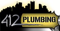 412 Plumbing Logo